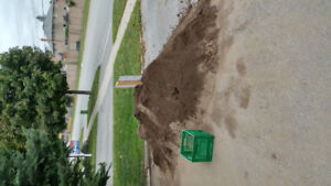 Free screened topsoil. Come and pick it up.