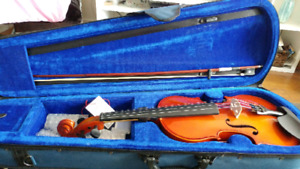 Fiddle with case