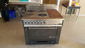 Industrial electric stove $200.00 obo