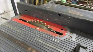 "10"" Craftsman Motorised Table Saw + Fence&Mitre Gauge St. John's Newfoundland image 2"