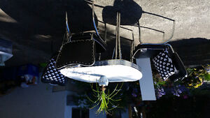Retro Table, Leaf and 4 Chairs