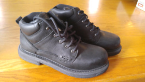 Brand new Leather Steel Toe work boots