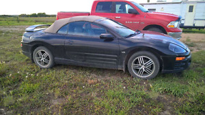 Need To Sell Mitsubishi Eclipse Convertible