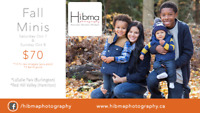 Fall Family Mini Sessions - Thanksgiving Weekend