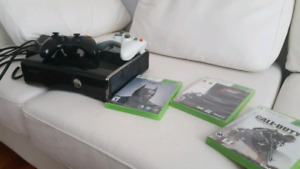 XBOX 360 S WITH (250 GB CONSOLE)
