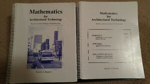 Mathematics for Architectural Technology by Rudolf A. Zimmer London Ontario image 1