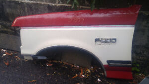 Front Ford F-250 Fenders