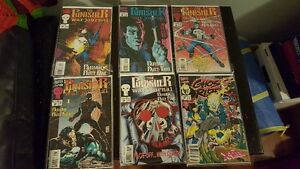 Mint Condition Punisher War Journal Comics + Ghost Rider Extra