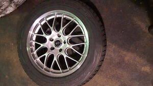 Bridgestone Blizzak Tires and Rim 235/60 R 18