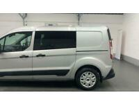 SILVER FORD TRANSIT CONNECT 1.5 230 DCIV DIESEL *BUY NOW FROM £168 PER MONTH*