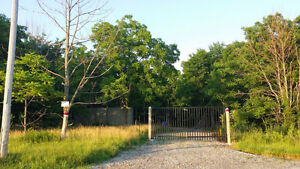 EXTREMELY RARE PPTY OVER 3 ACRES SURROUNDED BY CONSERVATION LAND