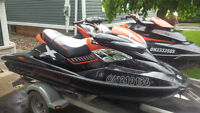 2- 2010 255HP Seadoos (2 seater and 3 seater - RXT-X / RXP-X)