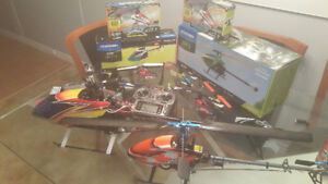 Beaucoup D'HELICOPTERE a vendre blade trex + pieces
