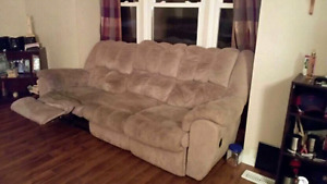 Recliner couch and recliner rocking chair for sale