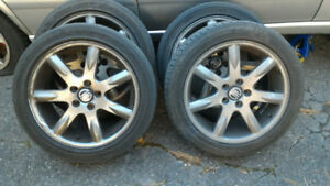 "Volvo 17"" Volan Wheels (set of 4) with tires."