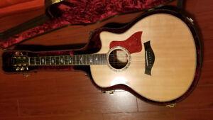 Like New Taylor Acoustic Guitar 816CE LTD Cocobolo+Case+Stuff