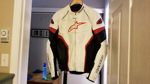 alpinestars GP PLUS R Leather Jacket sz 46
