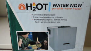 chauffe eau portatif pour camping ou camp de chasse