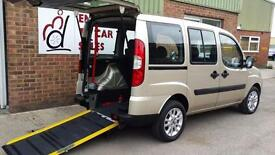 2009 Fiat Doblo Dynamic Wheelchair Disabled Accessible Vehicle Car