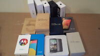 MINT 10/10 , iphone, samsung htc sony phones + 30days WTY