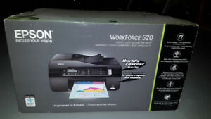 Epson - WorkForce 520 All-in-One Printer