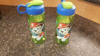 paw patrol water bottles..pair