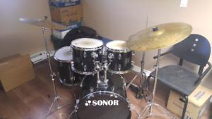 Batterie Sonor ( Drum sonor)