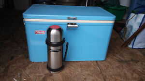 Cooler with thermos