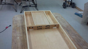 Sjoelbak (Dutch Shuffleboard) Handmade, *NEW*