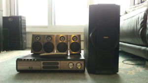 Philips MX3950D Home Theater (As Is) Speakers OK
