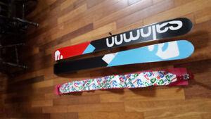192cm Salomon Rocker 2 & Guardian 16 back country bindings