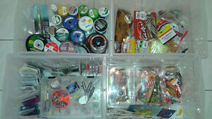 FISHING LURES LINES TACKLES & MORE ( NEW )
