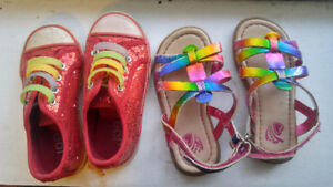 Children's shoes sizes 7, 8, and 9