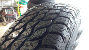 New 225/75R16 all season (A/T) tires, $440 for 4