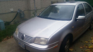 Volkswagen Jetta for sale as is