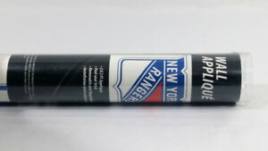 New York Rangers Wall Sticker Peal and Stick 2 X 2 Ft Removable