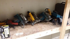 variety of power tools for sale