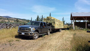 Hay Hauling and Stacking
