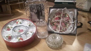 BRAND NEW DISHES ENTERTAINING/GIFTS/GLASSWARE/FRAME Kitchener / Waterloo Kitchener Area image 5