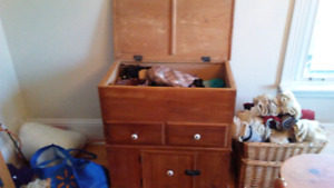 Antique Solid Pine Dry Sink