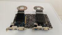 2 Cartes Vidéo GeForce - Graveur DVD LG - Carte PCI SATA