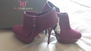 Just Fab women's shoes brand new