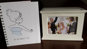 Four Wedding Albums and Planner