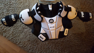 STX box lacrosse chest protector