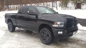 2017 Dodge Power Ram 2500 Black apperance package Pickup Truck