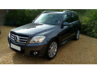 LHD 2008 Mercedes-Benz GLK 320 CDI (Diesel) AUTO, FULL OPTIONS - LEFT HAND DRIVE