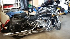 Black 2006 VTX 1300 Low Kilometers