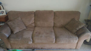 Free Matching Couch, Chair and Ottoman