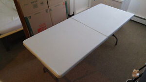 Lifetime 6-Foot Fold-In-Half Table - Excellent condition