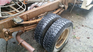4x41 ton dually roll chassis